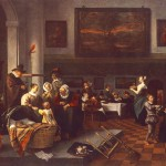 Jan_Steen_-_Christening_1669